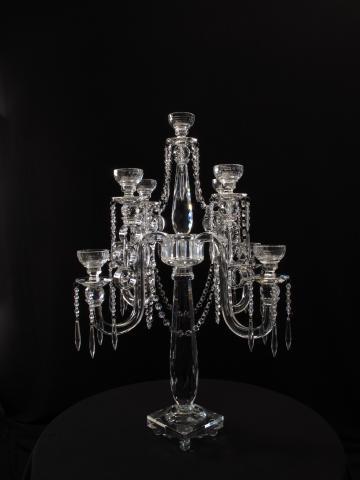 Crystal Candelabra for wedding and event rental