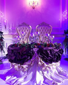 The PHANTOM of the OPERA sweetheart table!