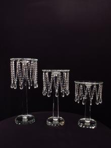 Sopranos Crystal Flower Stands Centerpiece for Weddings and Event Rental