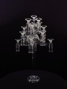 Crystal Candelabra for event or wedding rental