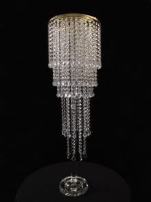Crystal Flower Stand for event or wedding rental.