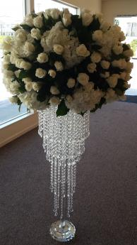 Kelly Crystal Flower Stand